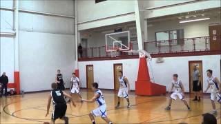 Nick Thompson Basketball Highlights 2014-2015 (Jr. Year)