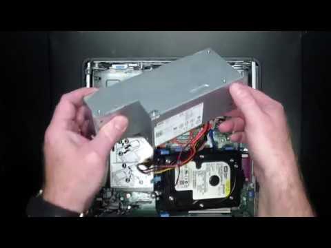 Dell Optiplex 760 SFF PSU removal