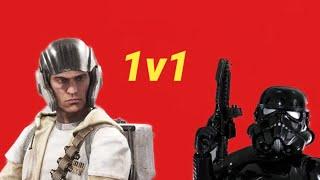 STAR WARS Battlefront 1v1 ep. 4  (Xbox one)