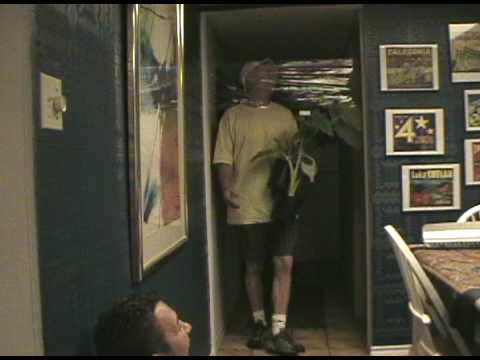 the old saran wrap on the door trick & the old saran wrap on the door trick - YouTube Pezcame.Com