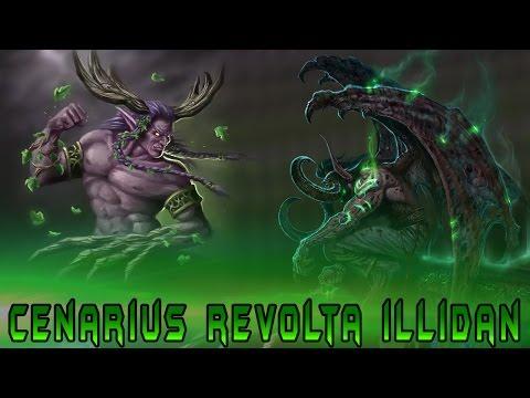 Cenarius Revolta iLLidan [WoW Legion]