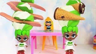 #ЛОЛ СОСИСКИ В ВОЛОСАХ? ЧТО С КУКЛОЙ ЦВЕТКОМ! Мультики с куклами ЛОЛ сюрприз #lol