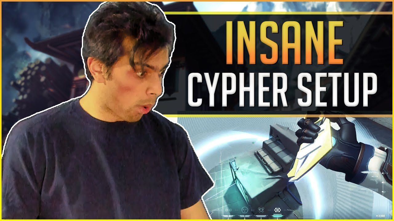 Download This Cypher Setup will BLOW your mind - 200 IQ Cypher Setups - Valorant