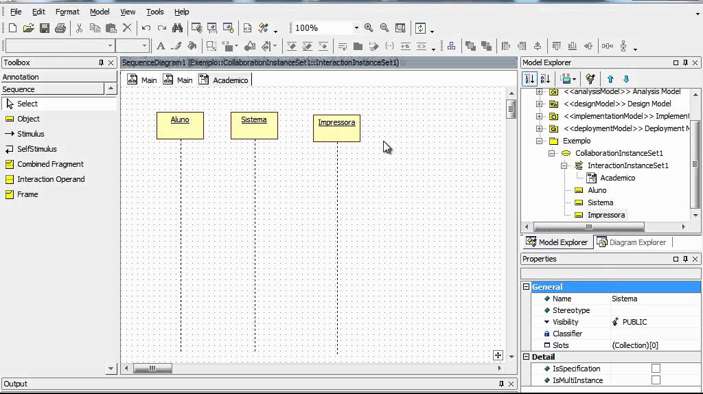 Diagrama de Sequencia  Star UML  YouTube
