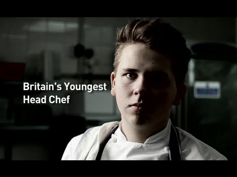 Luke Thomas - Britain's Youngest Head Chef Cooks at David Lloyd Leisure