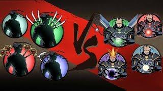 Shadow Fight 2 - Тени vs Титаны - Shadows vs Titans!