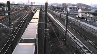 Download Video Above Japan's Higashi-Shizuoka Rail Yard MP3 3GP MP4