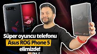 Türkiye'de ilk defa Asus ROG Phone 5 kutusundan çıkıyor! GECE YARISI ÇOK ACİL VİDEO!