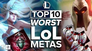 The Top 10 Worst League of Legends Metas