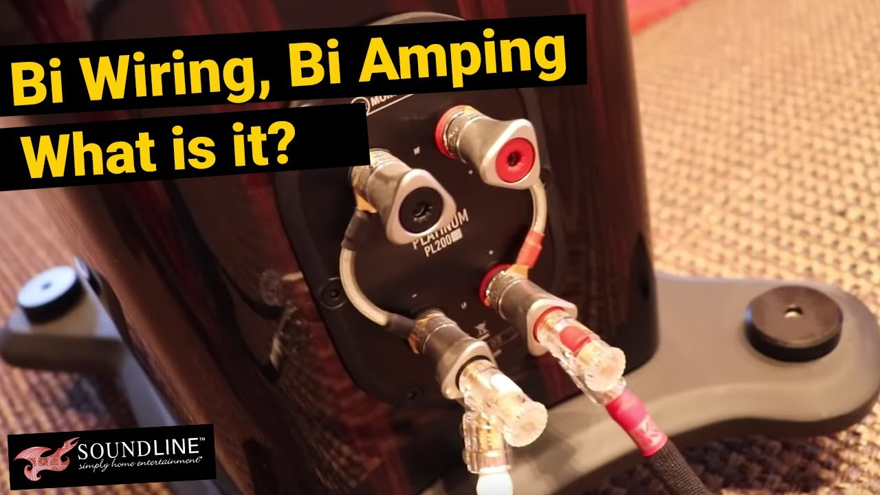 Bi Wiring Bi Amping What Is It Youtube