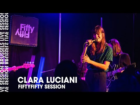 Clara Luciani live at FiftyFifty Session