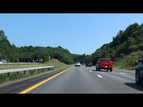 Adirondack Northway (Interstate 87 Exits 20 to 23) northbound