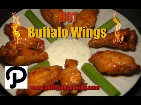 How To Make The BEST Buffalo HOT WINGS EVER: Easy Buffalo Wings Sauce Recipe