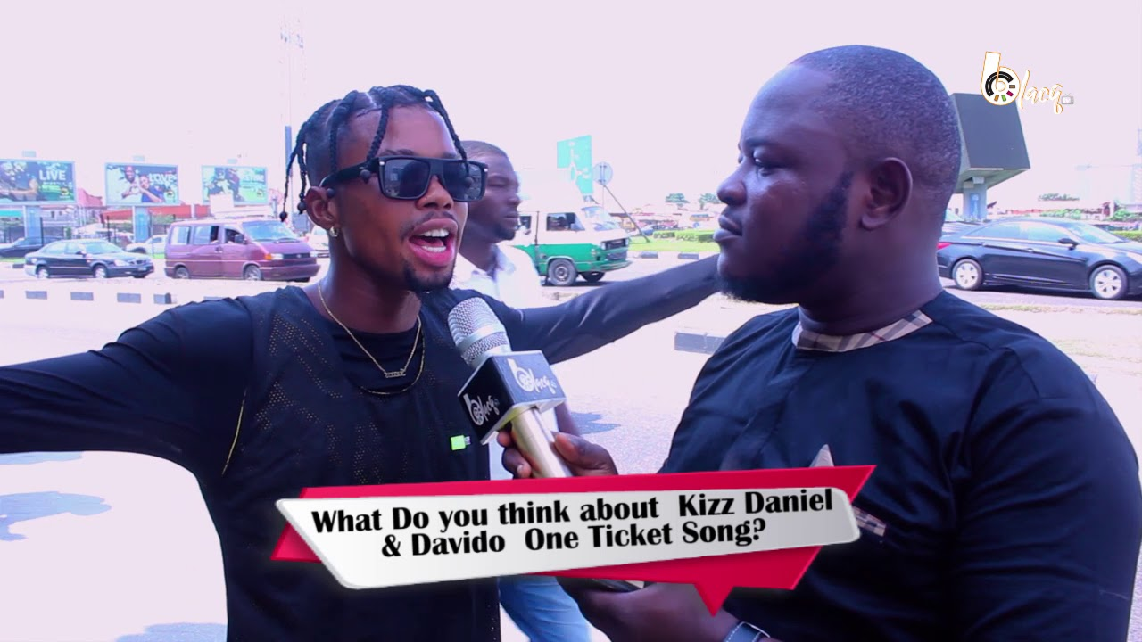 #OyaTalk #OneTicket by Kiss Daniel ft Davido...What do you think about the song?