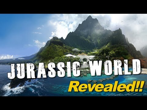 Check out the Jurassic World Theme Park!!