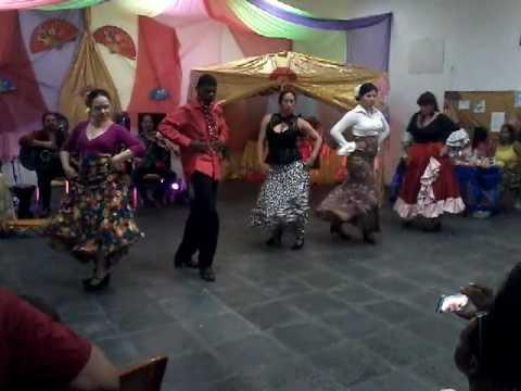 Flamenco. Alunos do prof. Rodrigo Garcia.