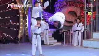 Repeat youtube video [BEST] K-POP 태권도 시범단의 놀라운 무대 @놀라운 대회 스타킹 140118
