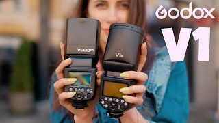 обзор Godox V1: обновление V860II и убийца Profoto A1