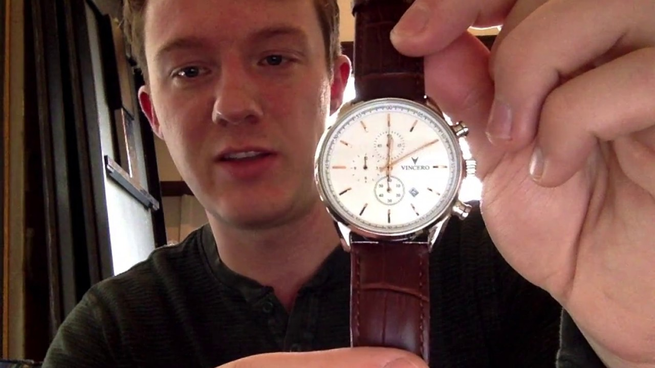 Vincero Watches Review Of The S Class SilverRose Gold