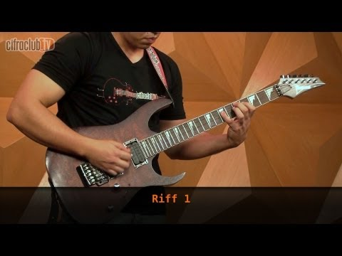 The Number Of The Beast - Iron Maiden (aula de guitarra)