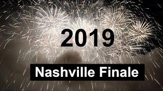 2019 Nashville Fireworks Finale