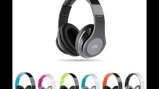 VM Audio Elux Over-Ear Hyperbass Headphones | EXHB200