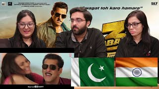 Dabangg 3: YU KARKE Video | Salman Khan, Sonakshi Sinha | PAKISTAN REACTION