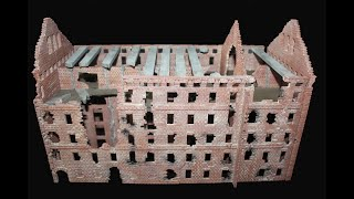 Tutorial:HowToPaint 1/72 Mill/Stalingrad/Wolgograd/Bemalung Grudinin Mühle/WW2/PaintingGuide/Diorama