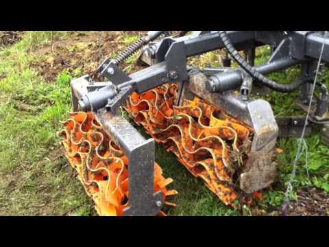 Désherbage mécanique : Démo Concise 2012  Rolofaca Kuffer Agri