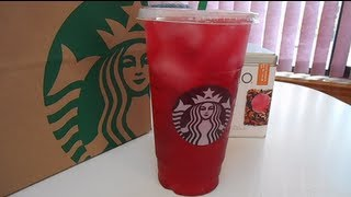 Starbucks Venti Iced Passion Tea Lemonade (how-to)