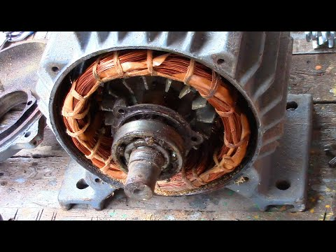 Как разобрать мотор