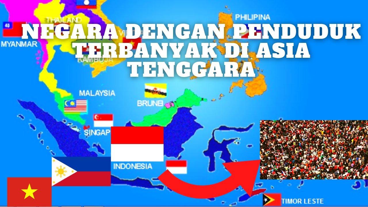 INDONESIA PENGUASA DI ASIA TENGGARA DENGAN JUMLAH PENDUDUK TERBANYAK
