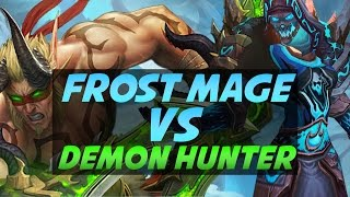 Frost Mage vs. Demon Hunter Duels - Legion PvP