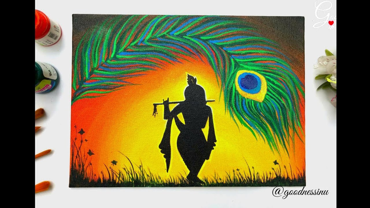 Janmashtami Special Krishna Painting Step By Step For