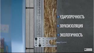 Звукоизоляция стен в квартире Гвл в два слоя и Акустикнауф(, 2016-07-27T05:42:29.000Z)