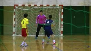 20180204九州高等学校ハンドボール選抜大会 男子 5位決定戦 九州産業vs熊本国府(後半1/2)