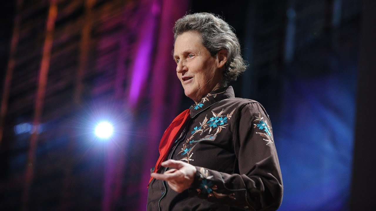 The world needs all kinds of minds: Temple Grandin