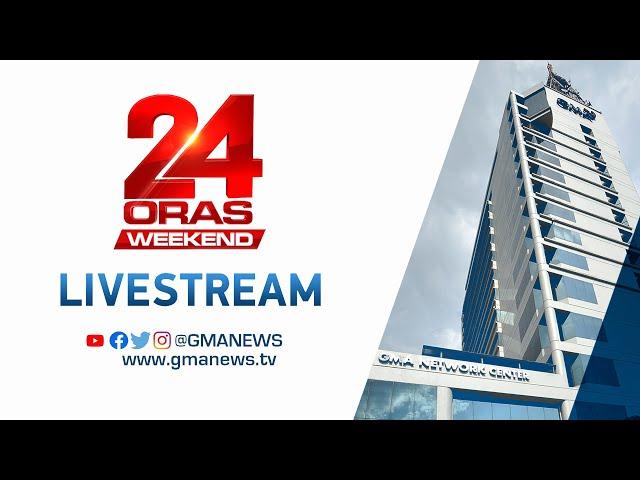 24 Oras Weekend Livestream: October 24, 2021 - Replay