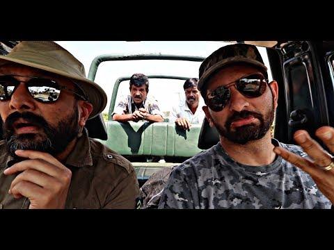 Driving Thru Elephant Country