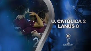 U. Católica vs. Lanús [2-0] | GOLES | Primera Fase (Vuelta) | Sudamericana 2020