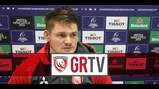 #GRTV | Clarke looking for Gloucester Rugby to do themselves justice in Castres