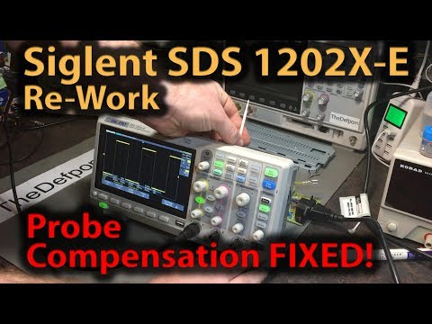 🔴 #349 Siglent SDS1202X-E Probe Compensation Rework - How To Do It