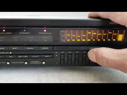 Pioneer GR-777 10-Band Graphic Equalizer