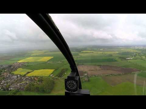 Trial Helicopter Flight - Nottingham England