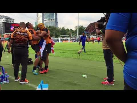 VLOG: Volunteer for Kuala Lumpur 2017 ( Rugby )