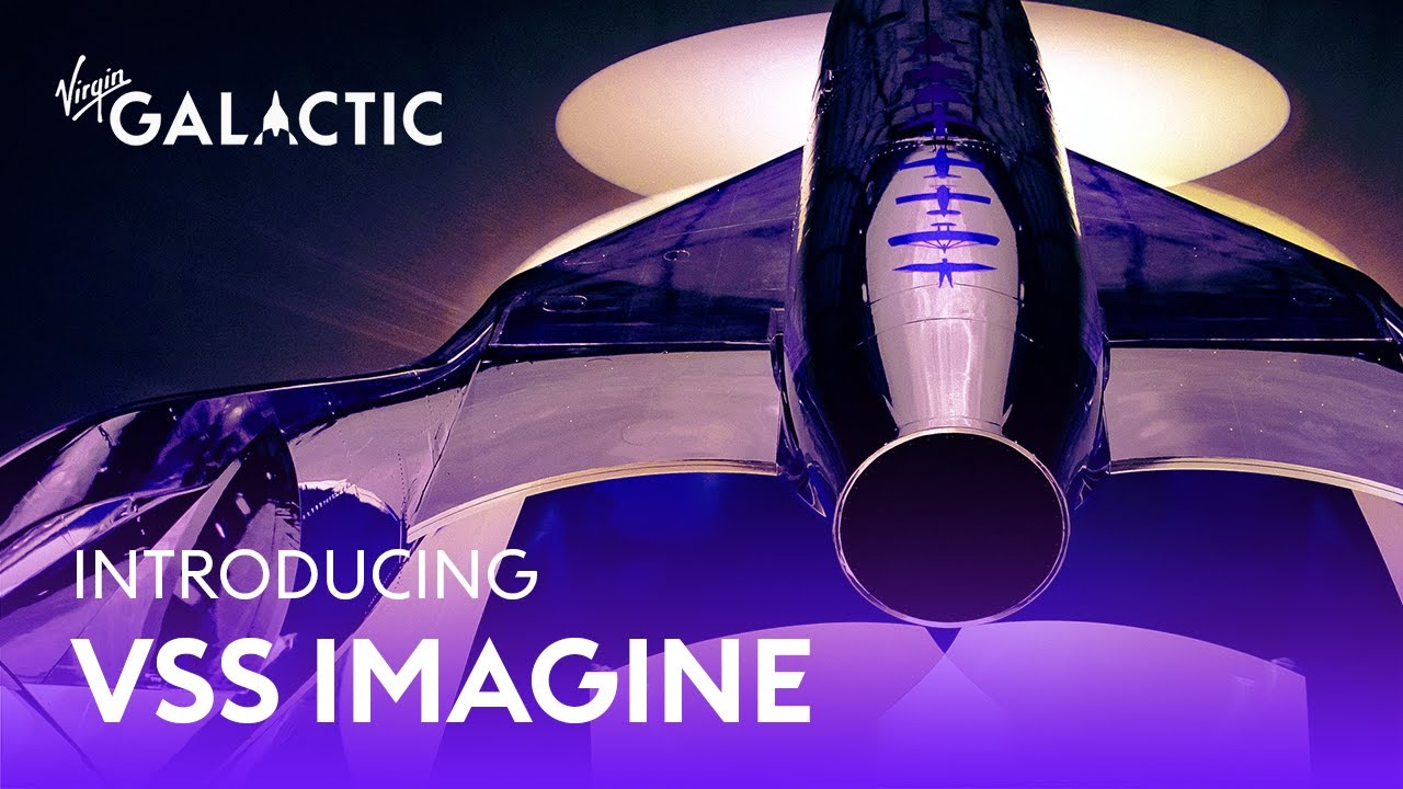 Virgin Galactic представила VSS Imagine. Это новый самолет для космического туризма
