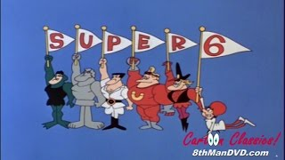 THE SUPER 6 CARTOON SERIES: Episode 01 (1966) (Remastered) (HD 1080p) (Cartoons for Children)