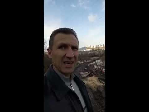Последствия после городского ремонта в Красноярске! Или как Люди живут среди груды Мусора!