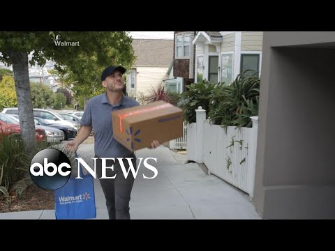 Walmart tests out a new grocery delivery service