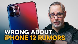 Wrong About iPhone 12 — 5G, 120Hz, No Charger!